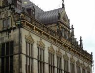 Teilansicht der Fassade des Bremer Schüttings (heute die Handelskammer)
