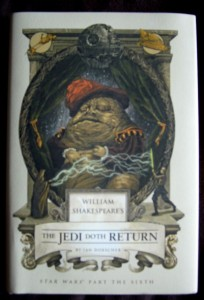 "Buchcover ""William Shakespeare's Star Wars - The Jedi Doth Return"""